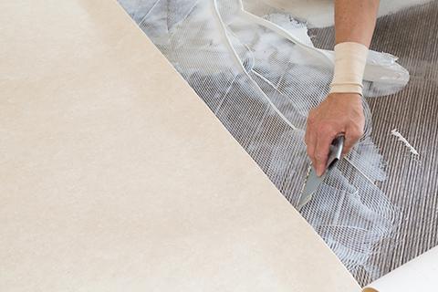床材を最適なものに変更